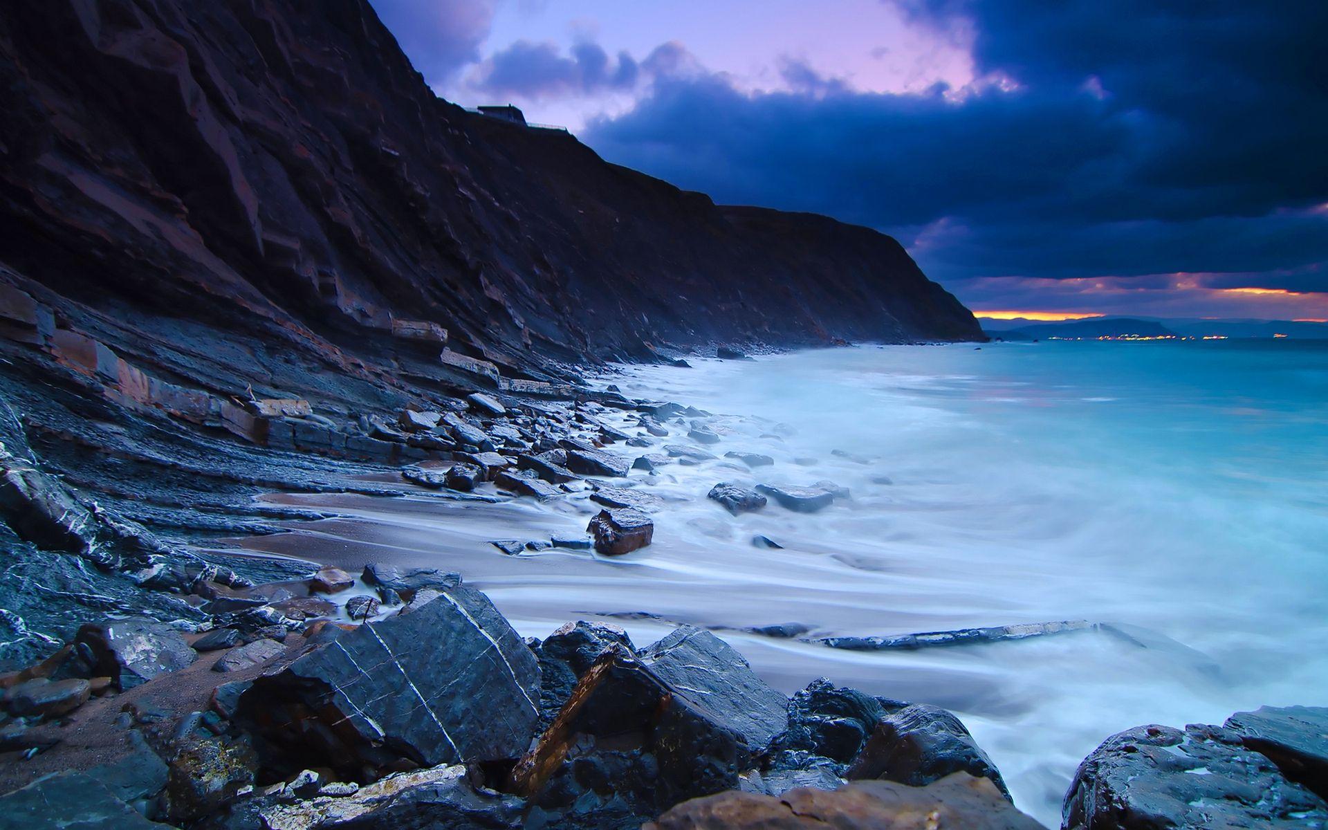 Rocky Beach Wallpaper Beach Wallpaper Beach Pictures Ocean Rocks