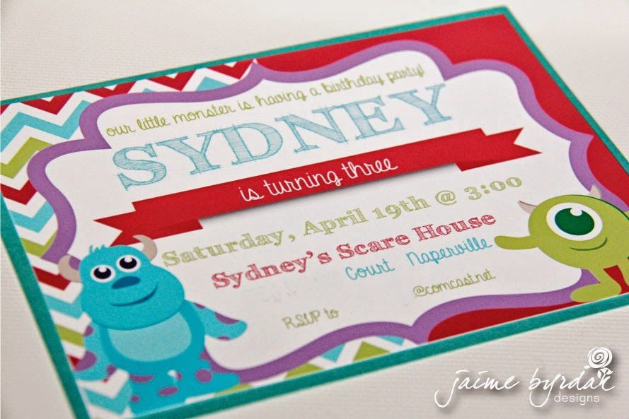 Sydney\'s Scare House, Monsters University, Monsters Inc birthday ...