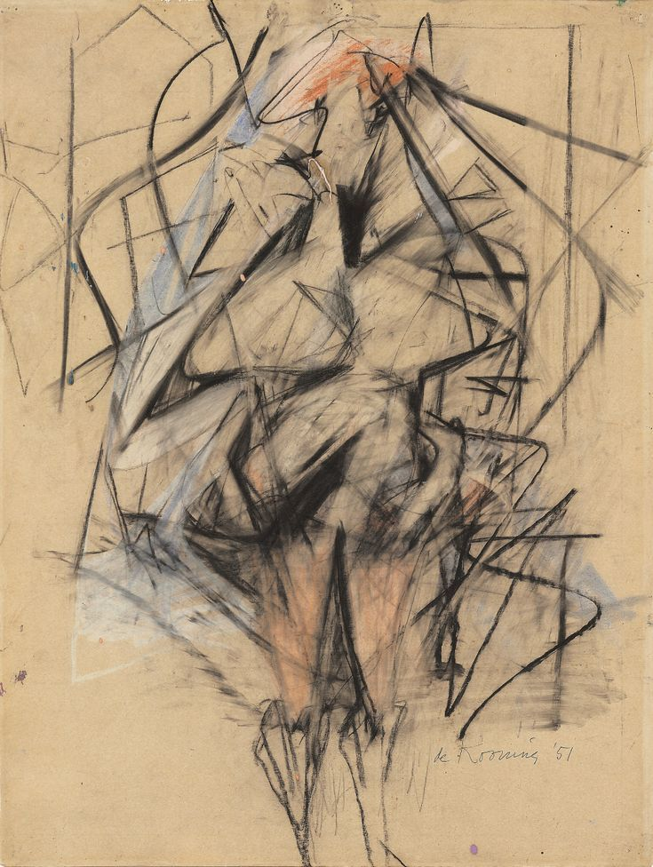 Willem De Kooning Drawing Famous Artists - #artists #drawing #famous #kooning #willem - #FranzKline