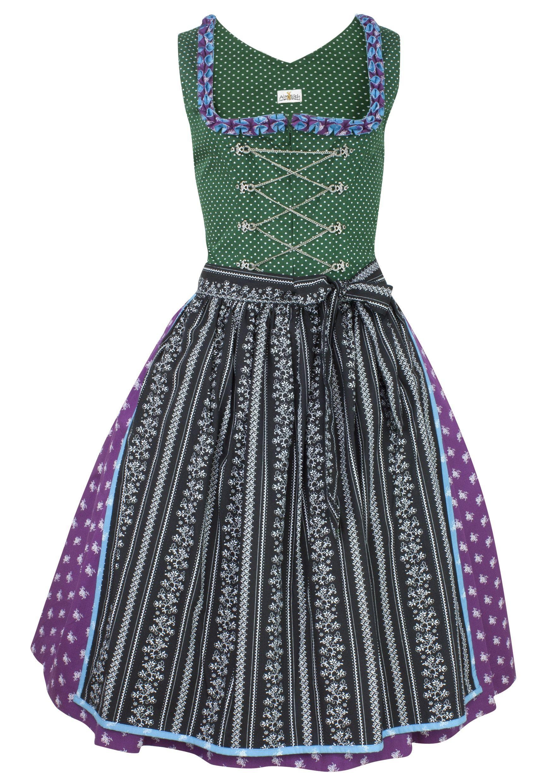 Dirndl lila grün - Almsach - LAWANGO - Dirndl   Lederhosen Online Shop ed2f178621