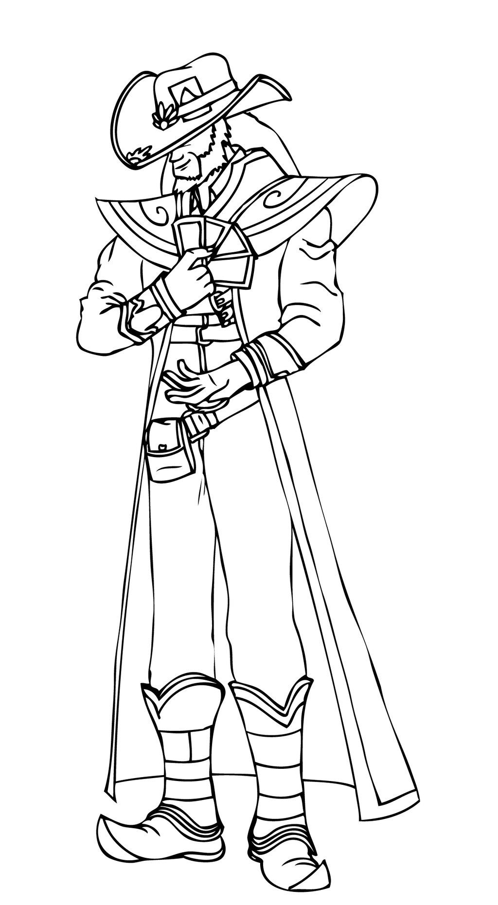 Pin on LineArt: League of Legends