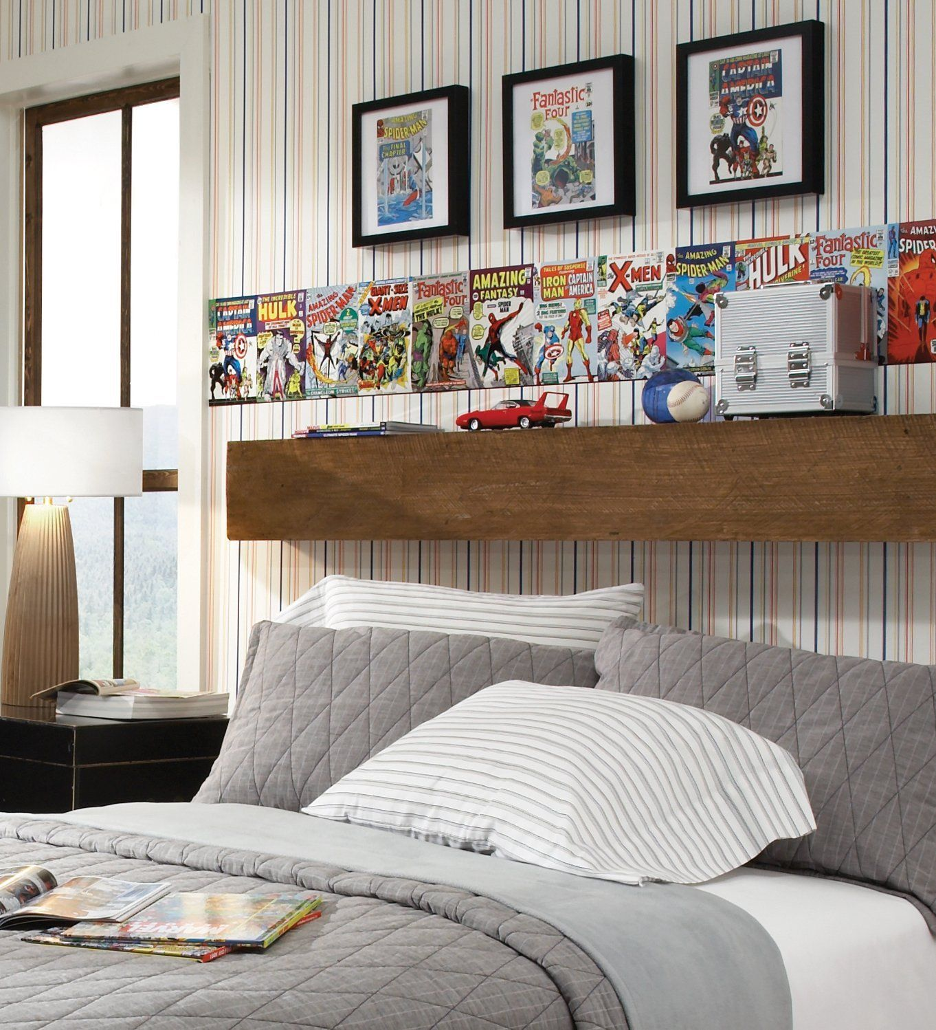 Wall Border Of Comic Books  Boys Room  Pinterest  Wall. Decorative Hose Stand. Rooms For Rent St Louis Mo. Stylish Home Decor. Ocean Themed Classroom Decorations. Decorative Wood Trim Moulding. Home Decorators Outdoor Furniture. Wild West Decorations. Baking Decorations