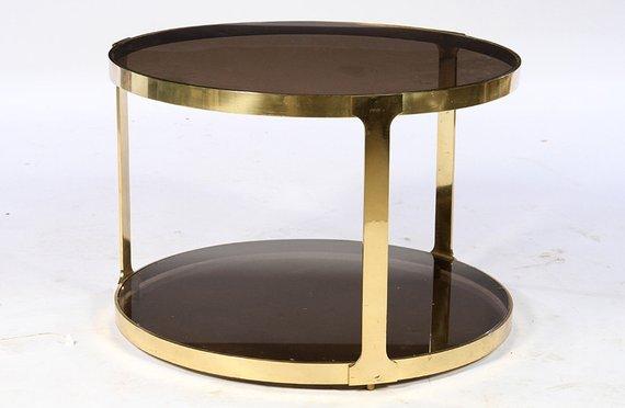 Gorgeous Italian Mid-Century Modernist Bronze Side Table ...
