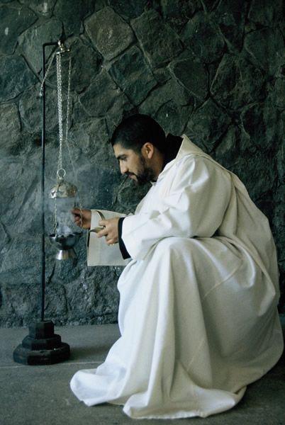 Monje Benedictino de Chile