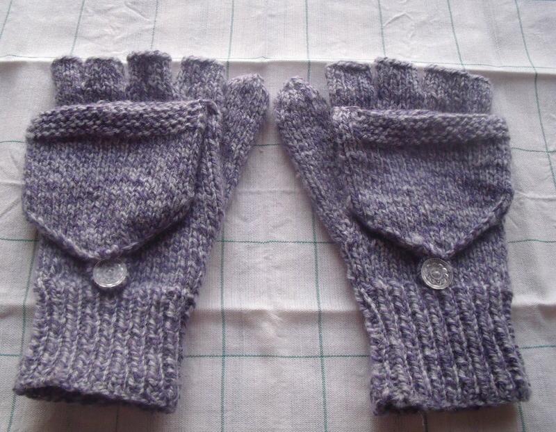 Mitaines à capuchon (épisode 2). - L'atelier tricot de Mam' Yveline. #hairandbeardstyles