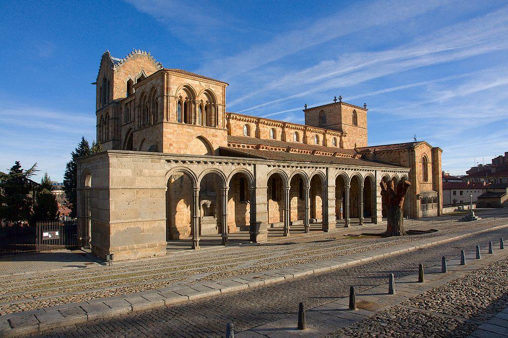 Basilica De San Vicente San Vicente Europe Tours Avila