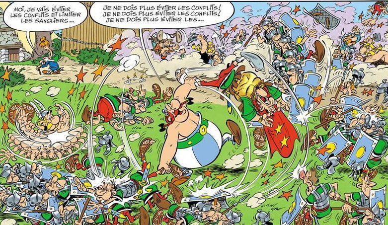 La Papyrus de César : le 36ème Astérix se lance à la tour Eiffel