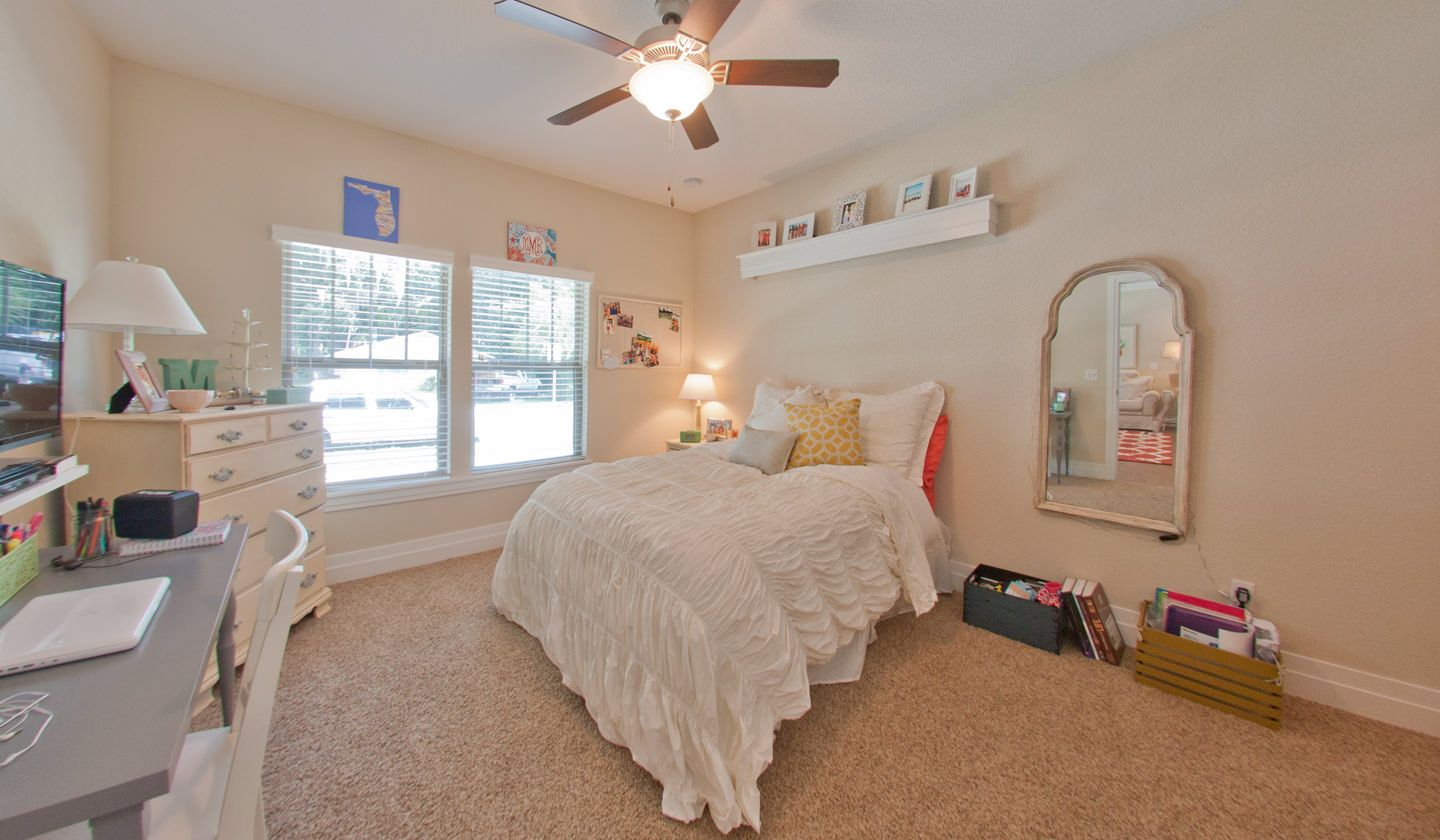 Bedroom at Greystone Luxury Apartments in Gainesville, FL