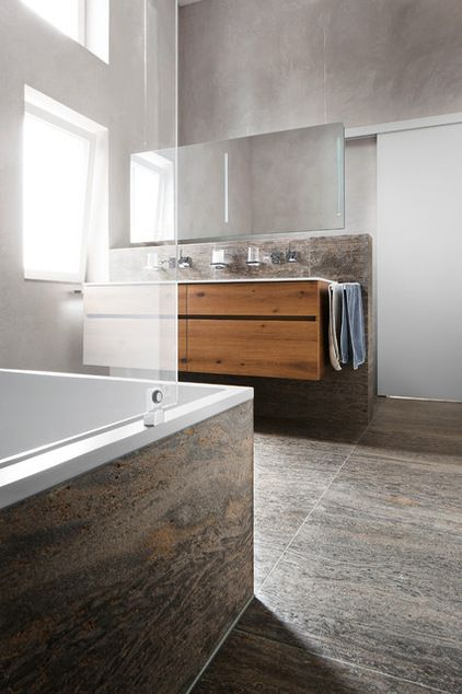Modern Badezimmer By FÖRSTL NATURSTEIN