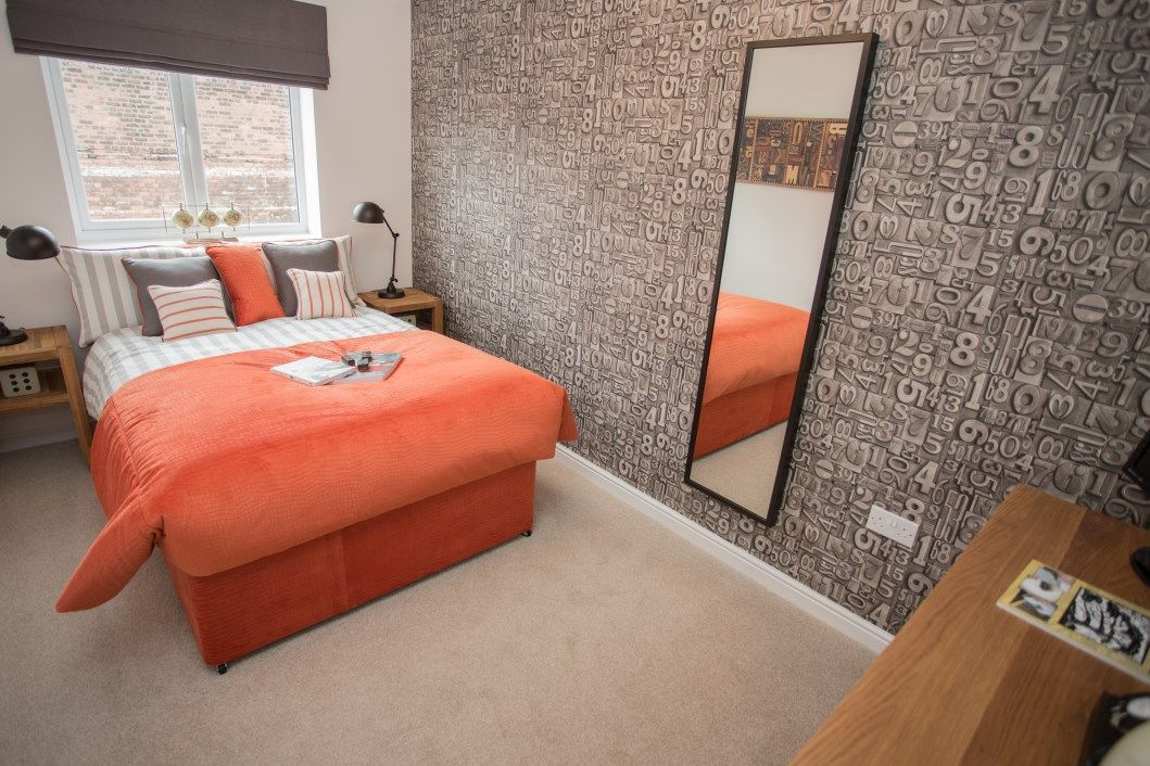 Gleeson New Homes Displaying Beautiful Bedroom Design In Bootle Merseyside