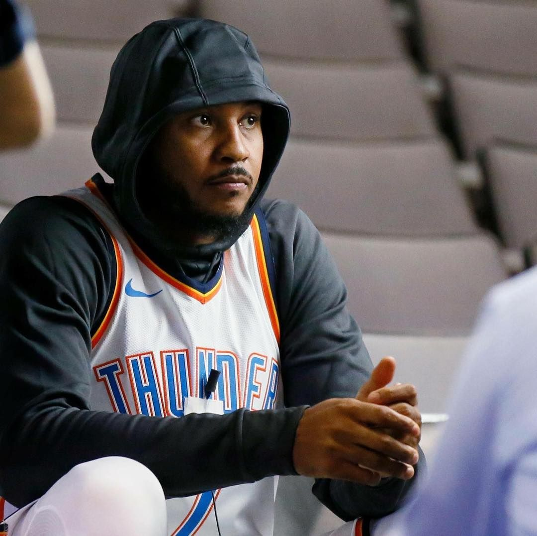 Carmeloanthony Is The Xfactor For The Okcthunder In The