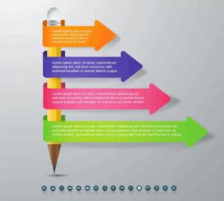 تحميل تصميمات إنفوجرافيك حديثة قابلة للتعديل Business Template Business Design Infographic