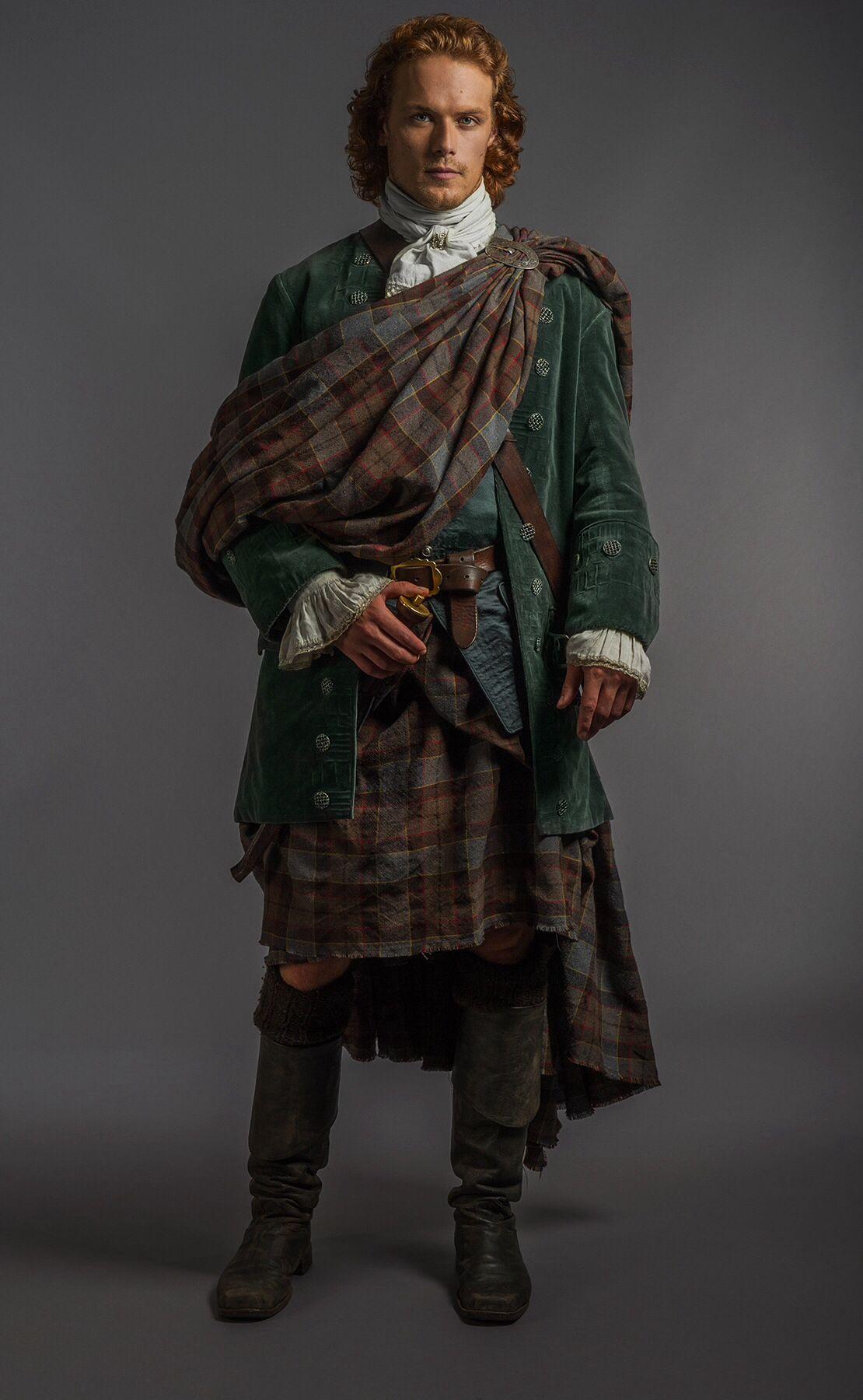 Jamie wedding attire Outlander wedding, Outlander