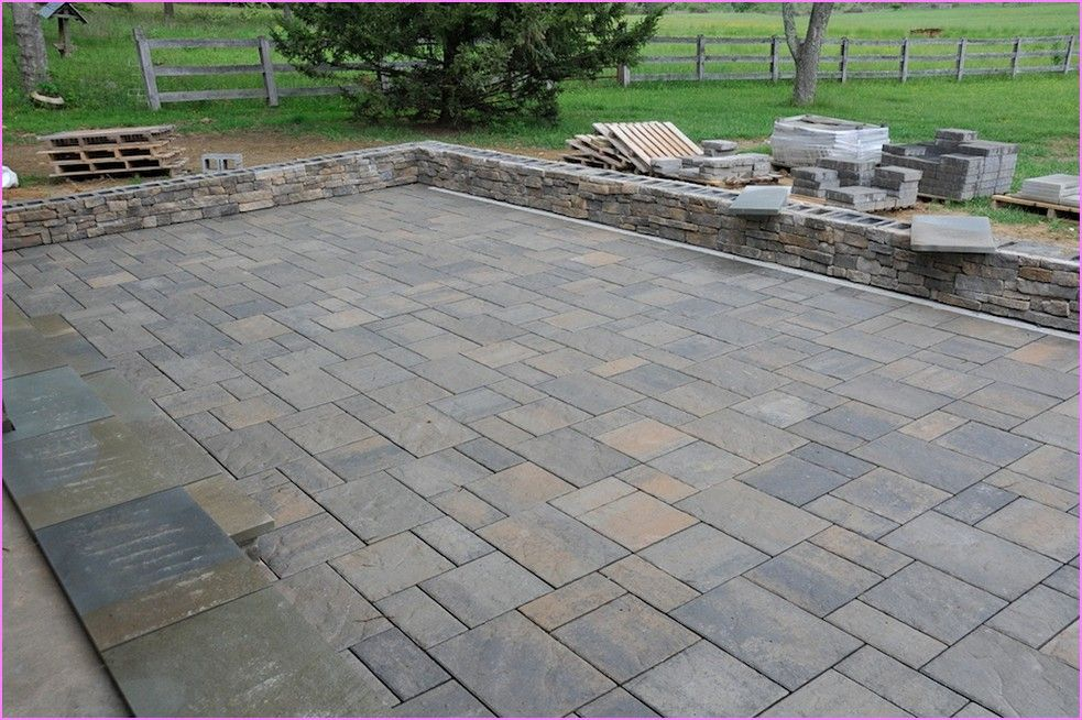 Stone Pavers | Laying Patio Stones | Home Design Ideas