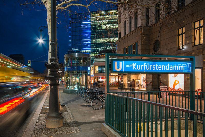 Berlin UBahn Kurfüstendamm Berlin germany, Pictures