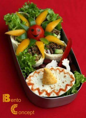 Bento from Mexico