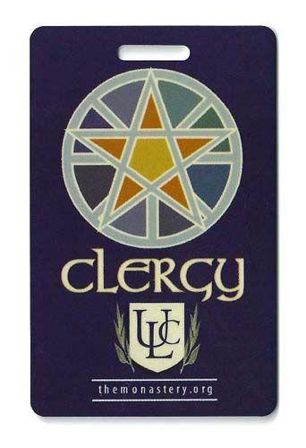 ULC Clergy Badge | Priest/ Priestess ordination | Universal