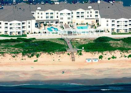 The Hampton Inn And Suites Outer Banks Hotel Located In Corolla Nc Offers Oceanfront Views Beach Access Free Wifi Hot Breakfast Outdoor Pools