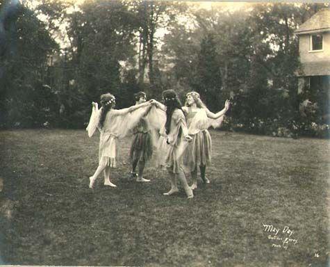 May Day at Vassar - Gustave Lorey - c. 1921