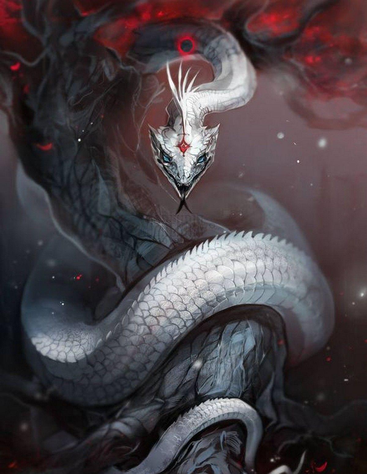 фэнтези картинки змея и кубка несколько идей, реализовать