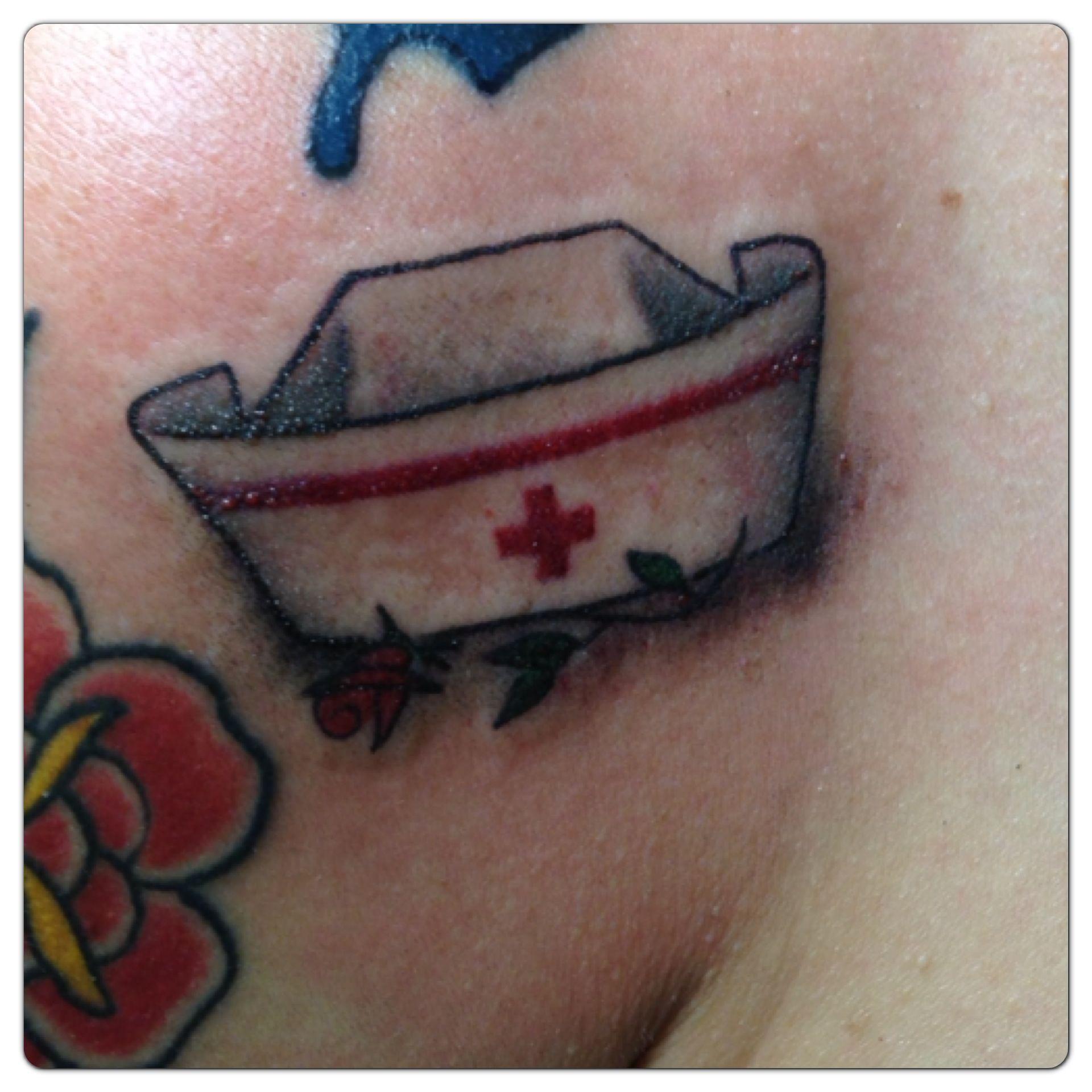 Tattoo Ideas Nurse: Nurses Hat Tattoo