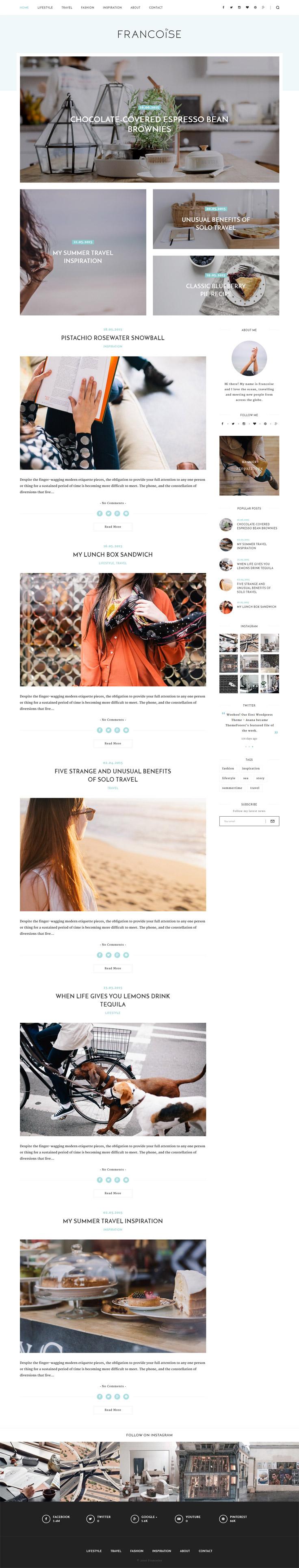 10 Uniquely Designed Personal Wordpress Themes Blog Themes Wordpress Blog Themes Wordpress Blog