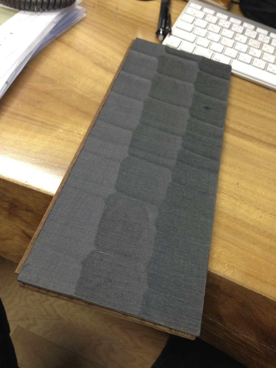 凹凸デザイン+シルク