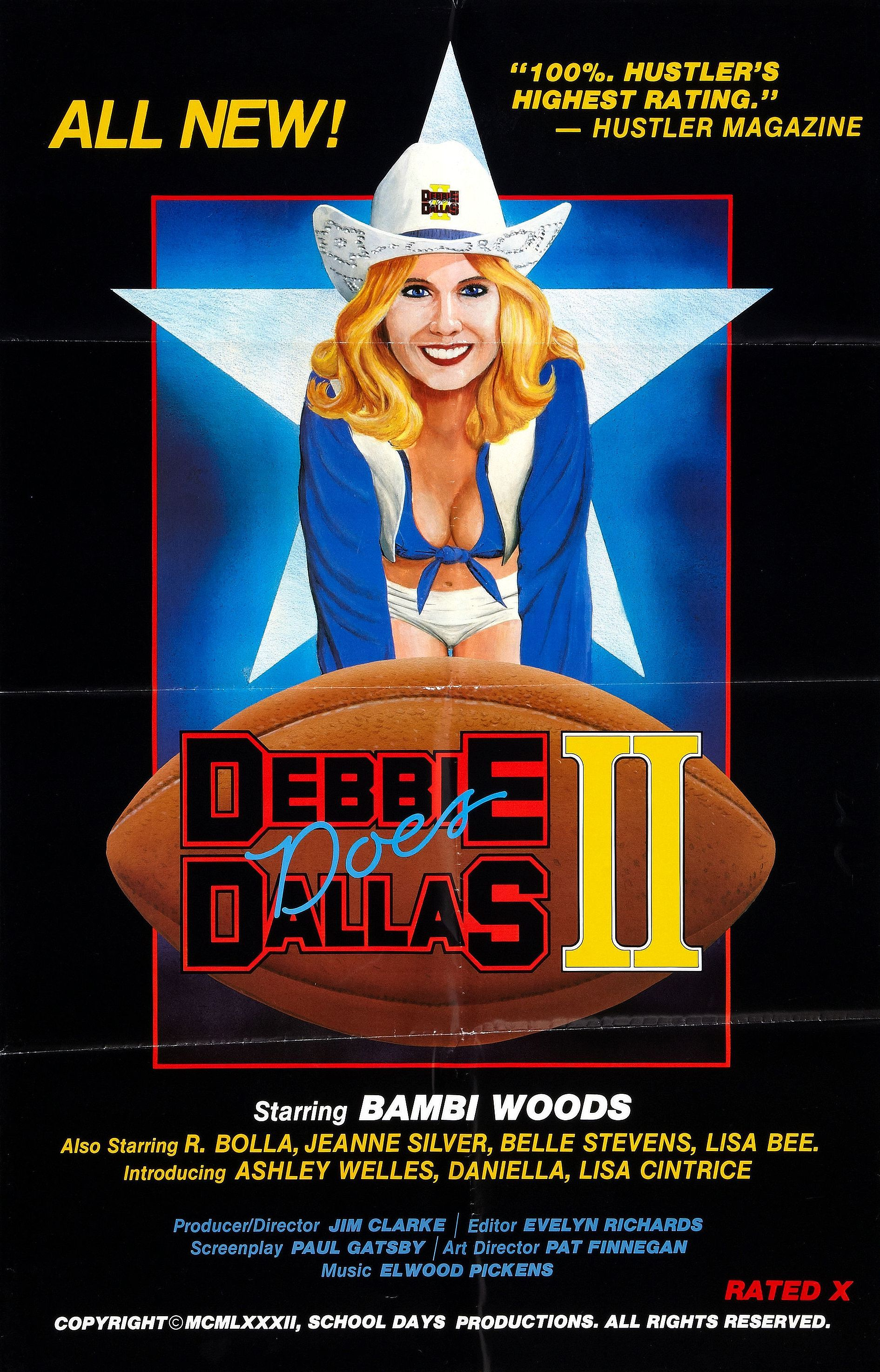 Debbie Does Dallas Part Ii 1981 Usa In 2020 Movie Posters