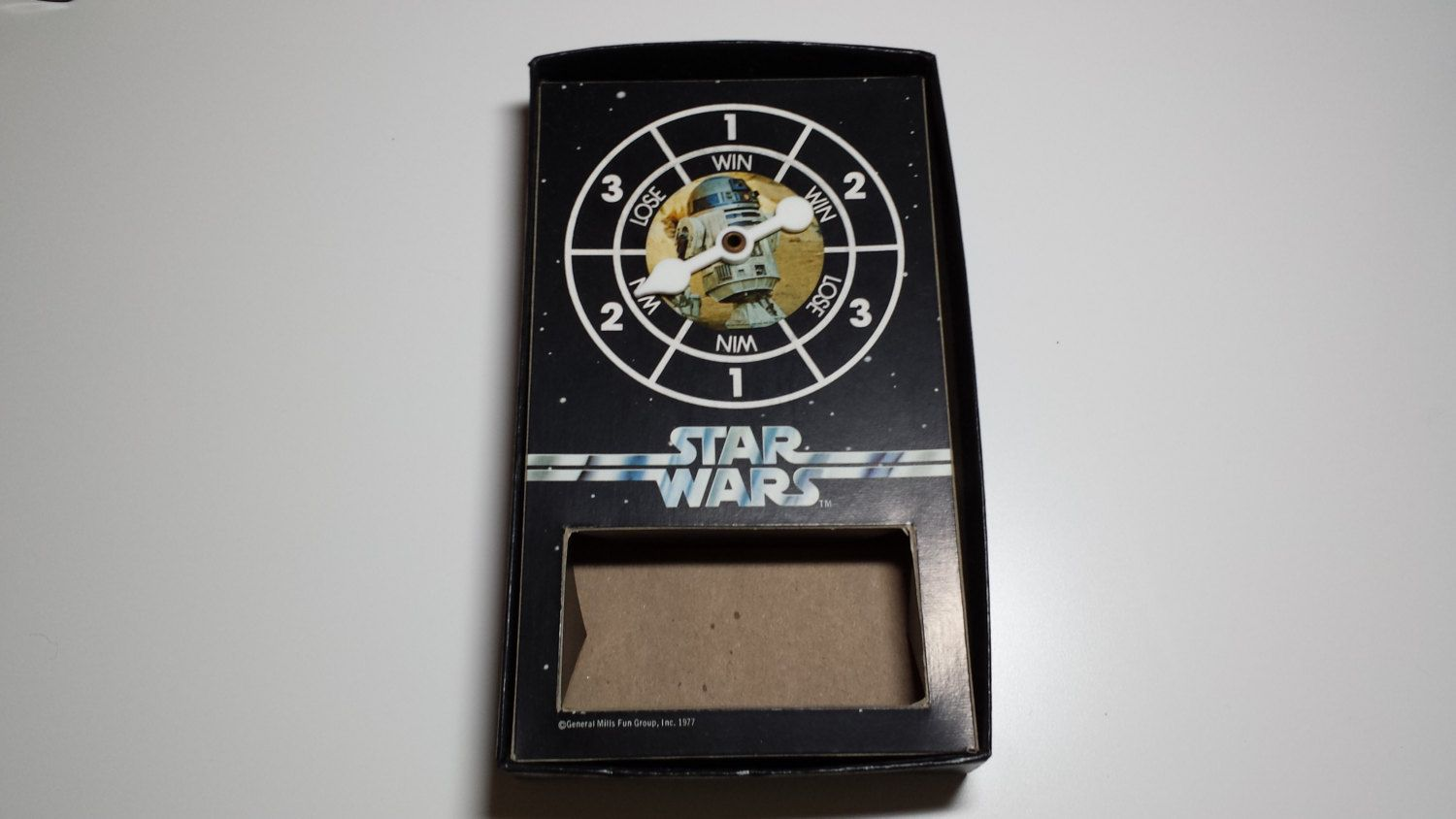 1977 vintage star wars game replacement piece spinner by