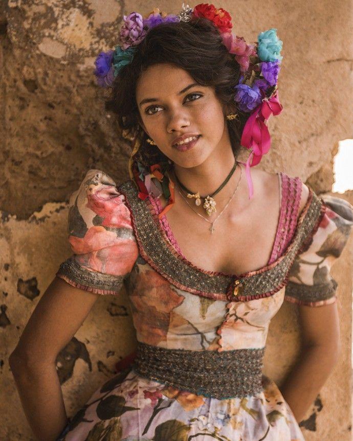 Marina Nery é Leonor em 'Velho Chico'; ela será casada com Afrânio, papel de Rodrigo Santoro (Foto: Caiuá Franco/ Globo)