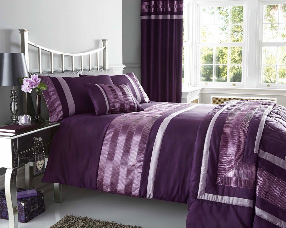 purple curtains and bedding to match curtain menzilperde net. Black Bedroom Furniture Sets. Home Design Ideas