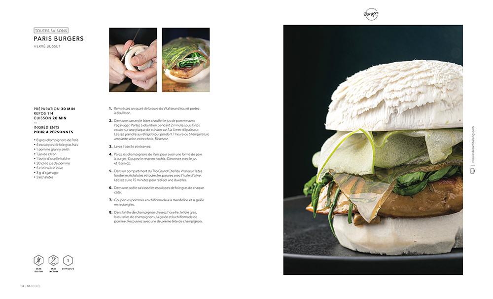 La recette du burger au champignon de Paris en 2020 ...