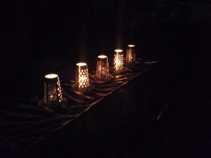 Homemaker tips for a tight budget » Blog Archive » Tealight Holders using Box Graters