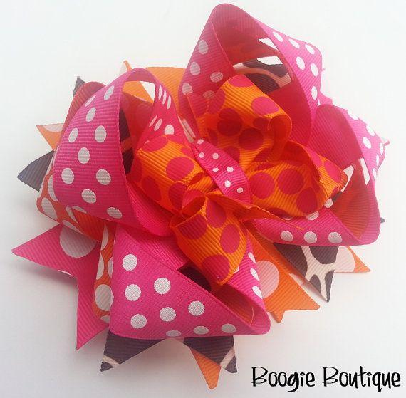 Boogie Boutique Orange Pink & Giraffe