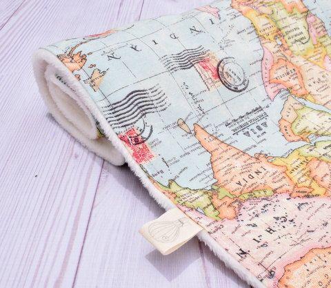 World Map Baby Blanket, map blanket, minky baby blanket, baby map - best of world map fabric etsy