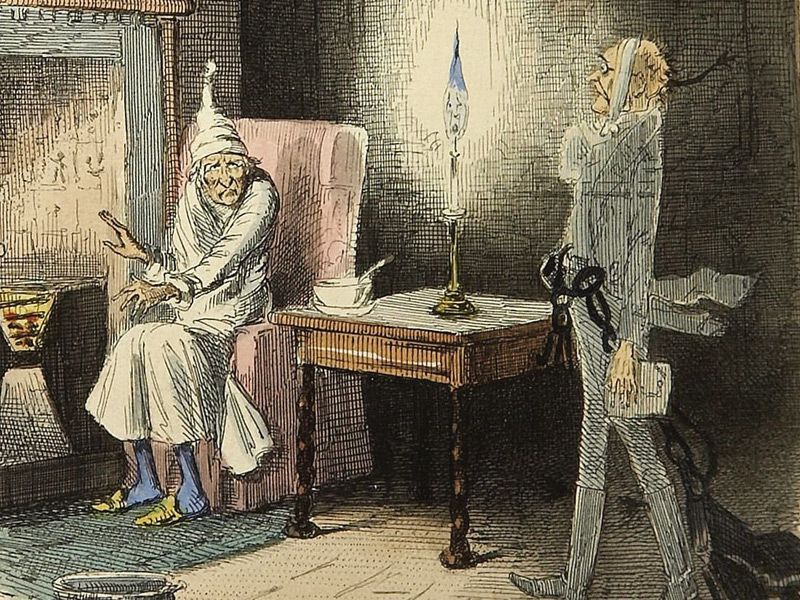 Pin by Sue Natalizia on SCROOGE, JACOB MARLEY AND THE SILENT GUIDE.   Christmas carol film ...