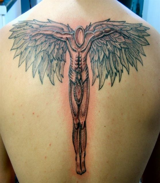 Angel Tattoos – Flaunt Your Spiritual Side or Your Love for Someone with Beautiful Winged Angels | Styles Hut