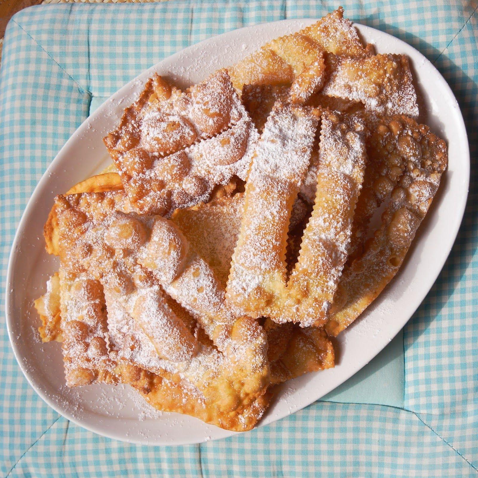 an Experimental Cook: Chiacchiere: ed è subito Carnevale!