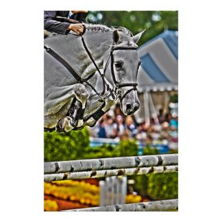 Equestrian Art-Show Jumping Poster Equestrian Art-Show Jumping Poster