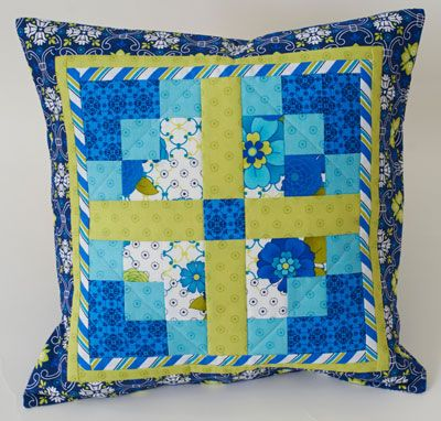 Quilt Magazine | Quilt Magazine » Blog Archive » QUILT: June/July ... : quilt pillow patterns - Adamdwight.com
