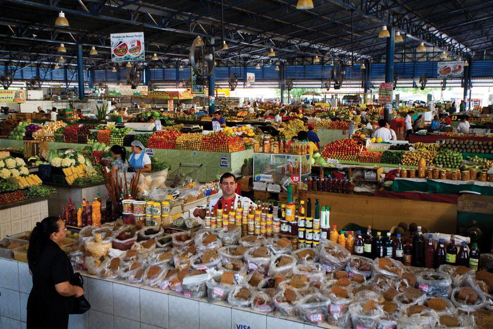 Cuiaba, market