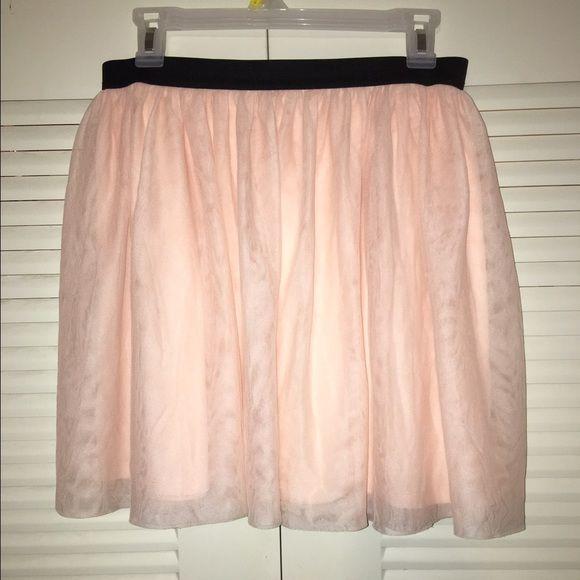 Tule Skirt! Blush pink ballet skirt. Super cute for summer! Open to reasonable offers! Worn once!  for ever 22 for exposure Forever 21 Skirts Circle & Skater