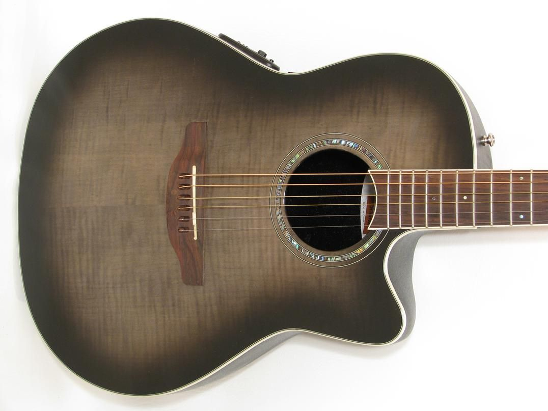 Ovation Celebrity Standard Plus Cs24p Mid Depth Cutaway Acoustic Electric Guitar Mage Music Guita Acoustic Electric Guitar Acoustic Electric Guitars For Sale