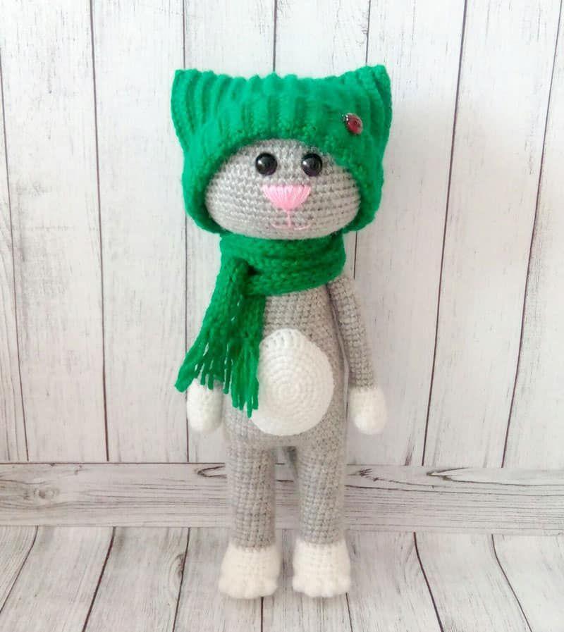 Amigurumi Crochet Cat Pattern Crochet Pinterest Crochet Cat