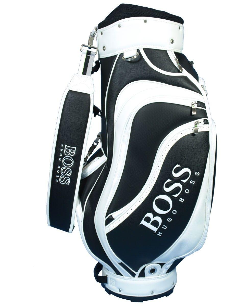 Hugo Boss Leather Golf Bag
