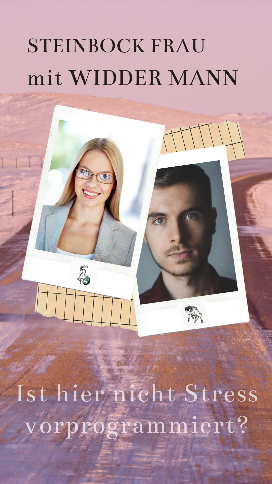 Widder-Mann & Steinbock-Frau Liebe und Partnerschaft