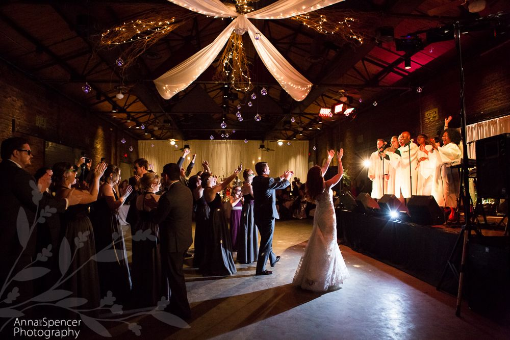 Anna And Spencer Photography Atlanta Documentary Wedding Photographers First Dance With A Gospel