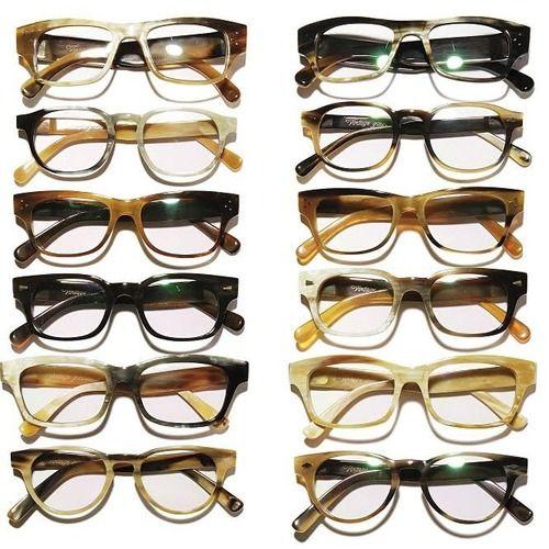 vintage glasses, men's wear