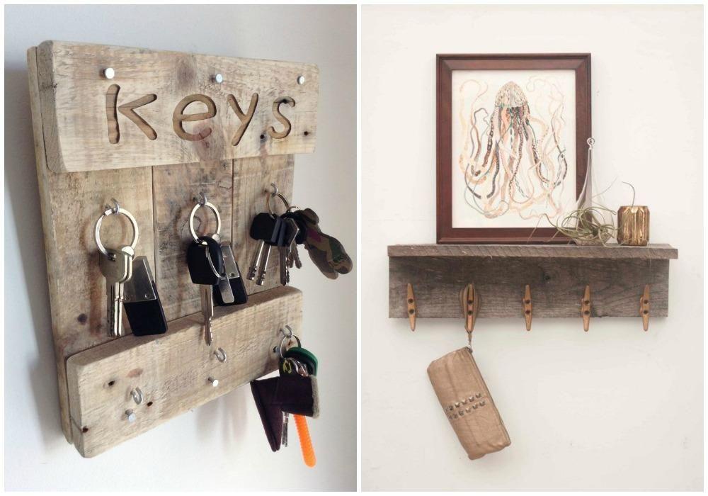 Un diy para colgar las llaves decorar tu casa es facil for Ideas para decorar la casa facil y economico