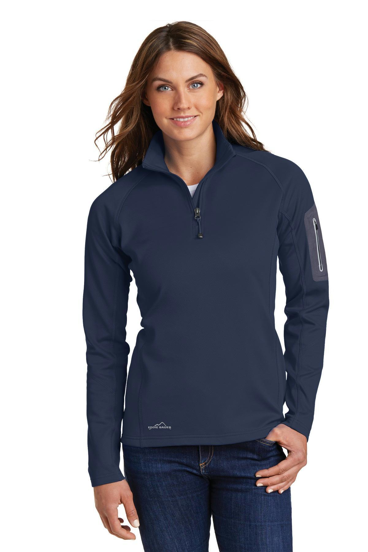 FleeceEb235 Eddie Bauer Ladies 12 Zip Performance dorCBex